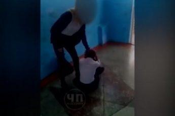 Девочку избили за георгиевскую ленту